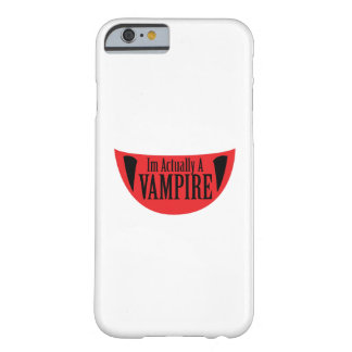 Capa Barely There Para iPhone 6 Im engraçado realmente um vampiro o Dia das Bruxas