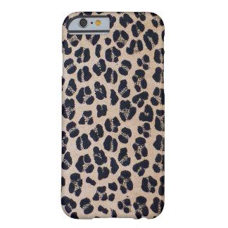 Capa Barely There Para iPhone 6 Impressão à moda na moda do leopardo, caso do