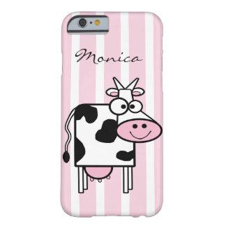 Capa Barely There Para iPhone 6 Impressão animal feminino de sorriso da vaca