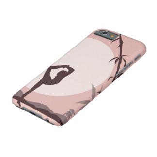 Capa Barely There Para iPhone 6 Ioga no rosa