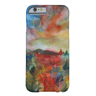 Capa Barely There Para iPhone 6 iPhone 6/6s da arte do outono, mal lá