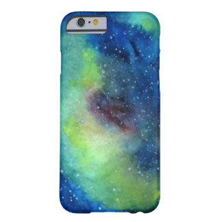 Capa Barely There Para iPhone 6 iPhone 6/6s da nebulosa da estrela, mal lá