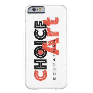Capa Barely There Para iPhone 6 iPhone 6 dos professores da Escolha-Arte, caso 6S