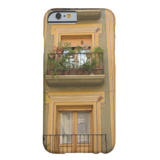Capa Barely There Para iPhone 6 iPhone amarelo 6/6s da janela de Granada, mal lá
