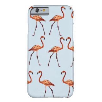 Capa Barely There Para iPhone 6 iPhone cor-de-rosa 6/6s dos flamingos, mal lá