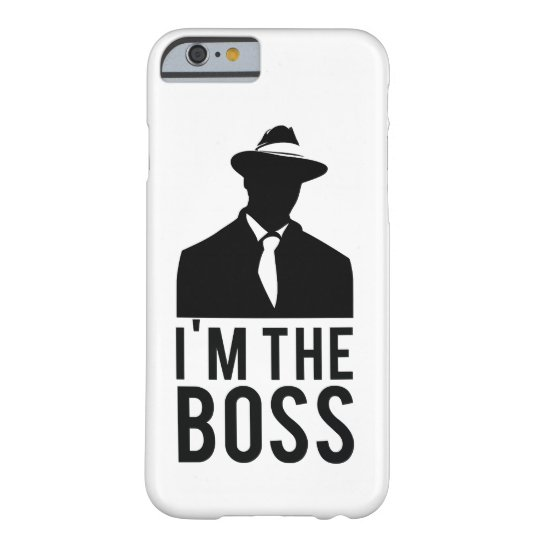 Capa Barely There Para iPhone 6 iPhone cover I'm the Boss