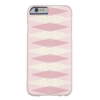 Capa Barely There Para iPhone 6 iPhone de Argyle do meio século/caso cor-de-rosa