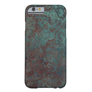 """Capa Barely There Para iPhone 6 iPhone """"de cobre"""" 6/6S do impressão da corrosão"""