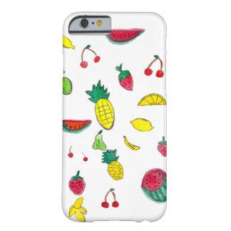Capa Barely There Para iPhone 6 iPhone frutado 6/6 de caso com frutas da aguarela