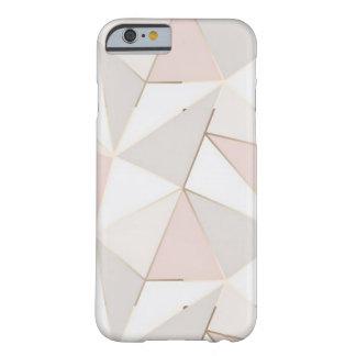 Capa Barely There Para iPhone 6 iPhone geométrico do rosa e do ouro 6/7/8 de caso