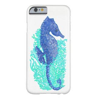 Capa Barely There Para iPhone 6 iPhone vívido 6/6s do cavalo marinho, mal lá caso