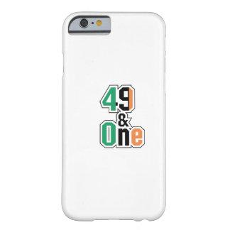 Capa Barely There Para iPhone 6 Irlandês dos fãs de encaixotamento quarenta e nove