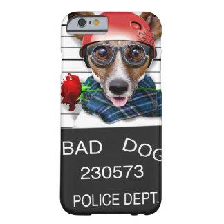 Capa Barely There Para iPhone 6 Jaque engraçado russell, cão do Mugshot
