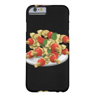 Capa Barely There Para iPhone 6 Kebabs super do vegetariano da comida do pulso