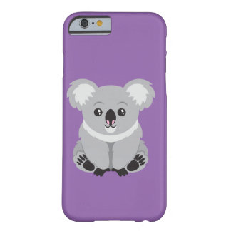 Capa Barely There Para iPhone 6 Koala do caso do telefone