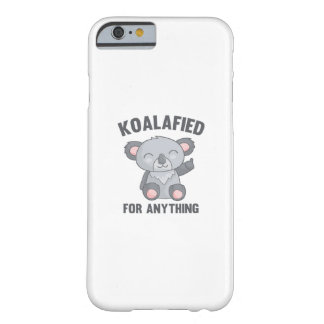 Capa Barely There Para iPhone 6 Koalafied para qualquer coisa