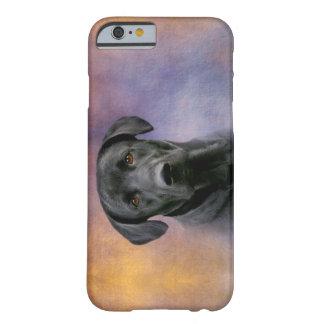 Capa Barely There Para iPhone 6 Labrador retriever preto bonito
