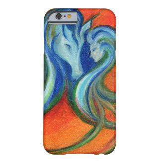 Capa Barely There Para iPhone 6 Lago de Fyrelyte, para o amor de um cavalo