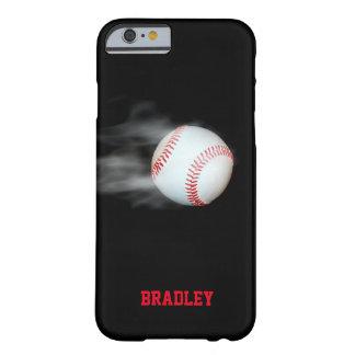 Capa Barely There Para iPhone 6 Lance o basebol da bola personalizado