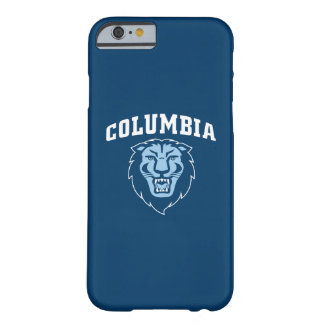 Capa Barely There Para iPhone 6 Leões da Universidade de Columbia |