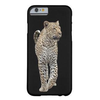 Capa Barely There Para iPhone 6 Leopardo na patrulha
