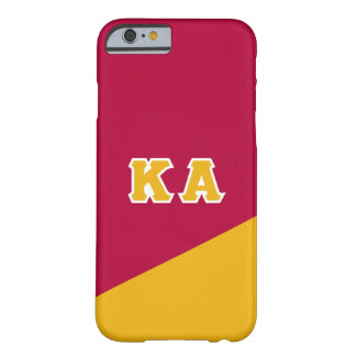 Capa Barely There Para iPhone 6 Letras alfa do grego da ordem   do Kappa