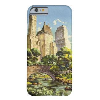 Capa Barely There Para iPhone 6 Linhas de ar unidas reticulação de New York do