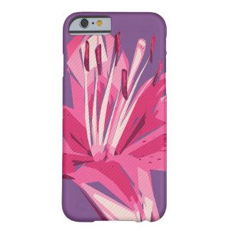Capa Barely There Para iPhone 6 Lírio floral abstrato do verão