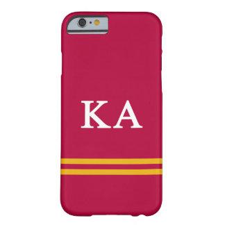 Capa Barely There Para iPhone 6 Listra alfa do esporte da ordem   do Kappa