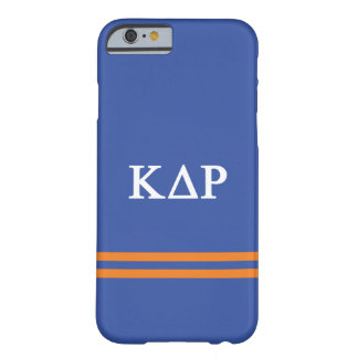 Capa Barely There Para iPhone 6 Listra do esporte do ró | do delta do Kappa
