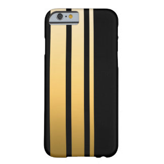Capa Barely There Para iPhone 6 Listra tripla do ouro