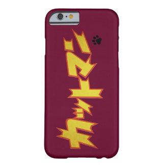Capa Barely There Para iPhone 6 Logotipo japonês do super-herói de CATman