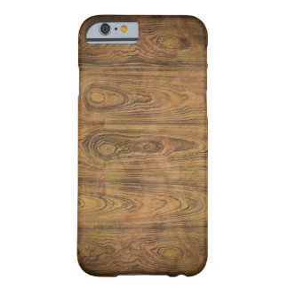 Capa Barely There Para iPhone 6 madeira primitiva do celeiro do país ocidental da