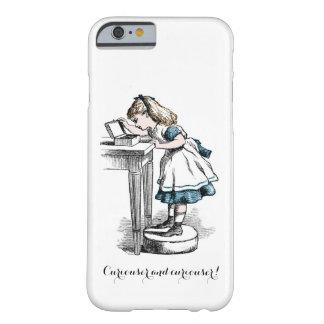 Capa Barely There Para iPhone 6 Mais curioso e mais curioso!