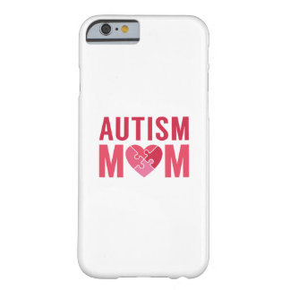 Capa Barely There Para iPhone 6 Mamã do autismo