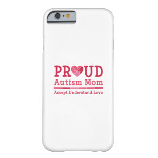 Capa Barely There Para iPhone 6 Mamã orgulhosa do autismo