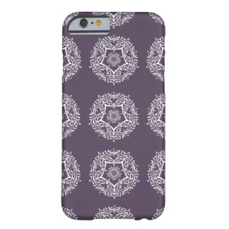 Capa Barely There Para iPhone 6 Mandala da ameixa