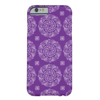 Capa Barely There Para iPhone 6 Mandala da beringela
