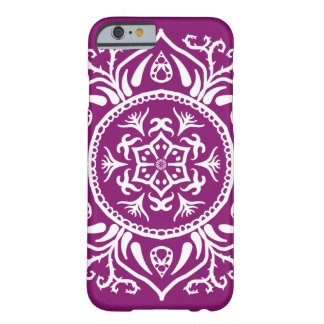 Capa Barely There Para iPhone 6 Mandala da dália