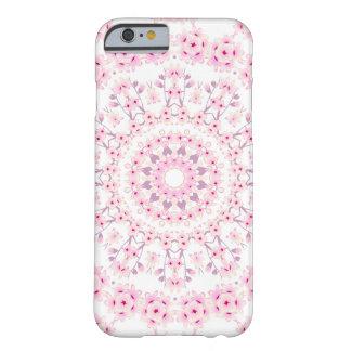 Capa Barely There Para iPhone 6 Mandala das flores de cerejeira