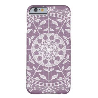 Capa Barely There Para iPhone 6 Mandala das glicínias