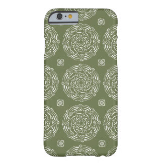 Capa Barely There Para iPhone 6 Mandala do musgo