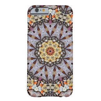 Capa Barely There Para iPhone 6 Mandala-Mistério de Shell do mar