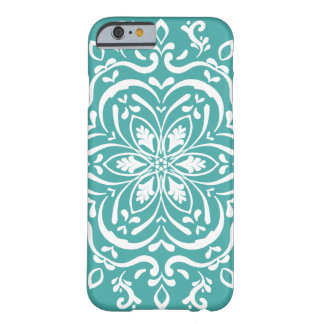 Capa Barely There Para iPhone 6 Mandala Spruce azul
