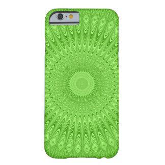 Capa Barely There Para iPhone 6 Mandala verde