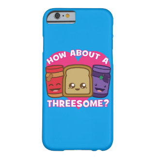 Capa Barely There Para iPhone 6 Manteiga e geléia de amendoim - como sobre um