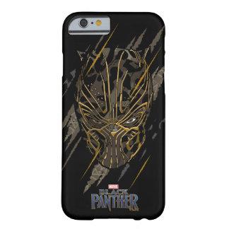 Capa Barely There Para iPhone 6 Marcas da garra da pantera preta | Erik Killmonger