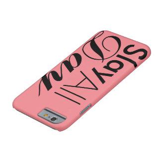 Capa Barely There Para iPhone 6 Massacre o dia inteiro o caso
