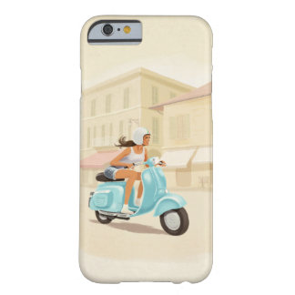 Capa Barely There Para iPhone 6 Menina do patinete
