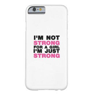 Capa Barely There Para iPhone 6 Menina eu sou apenas preto da menina das mulheres